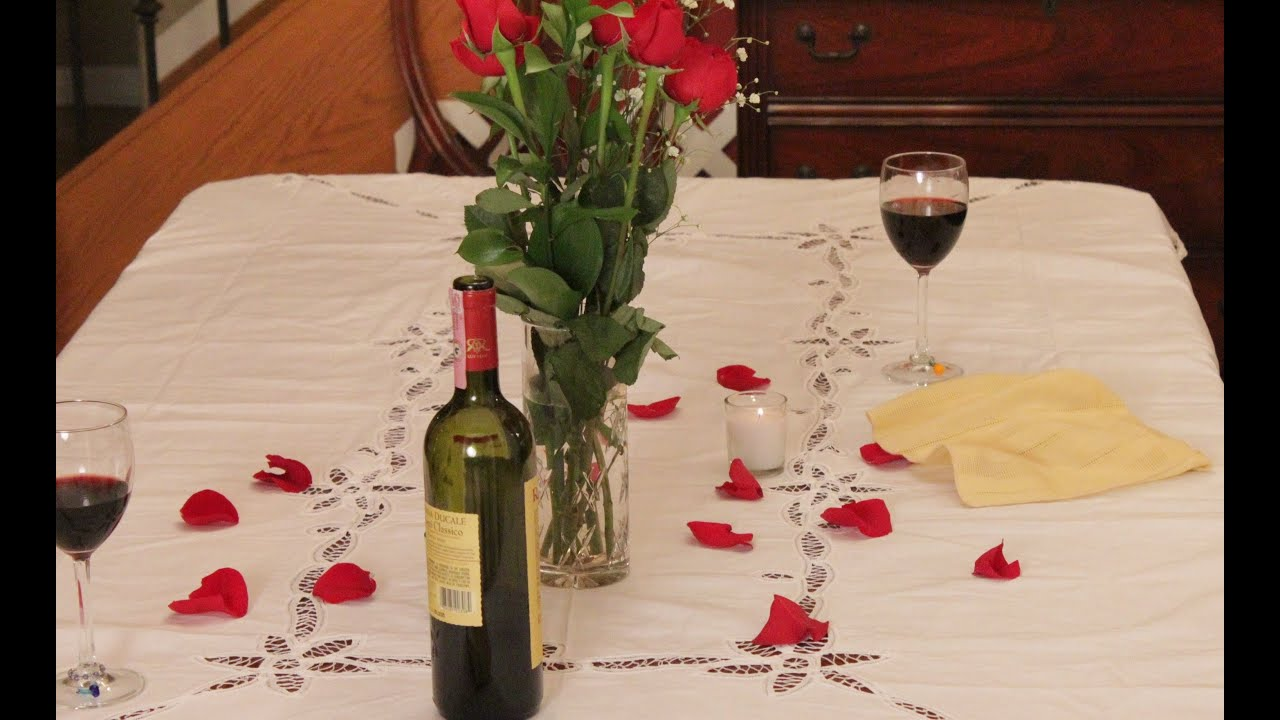 Valentine 39 s day romantic dinner for two ribeye steaks for Easy romantic dinners to make at home