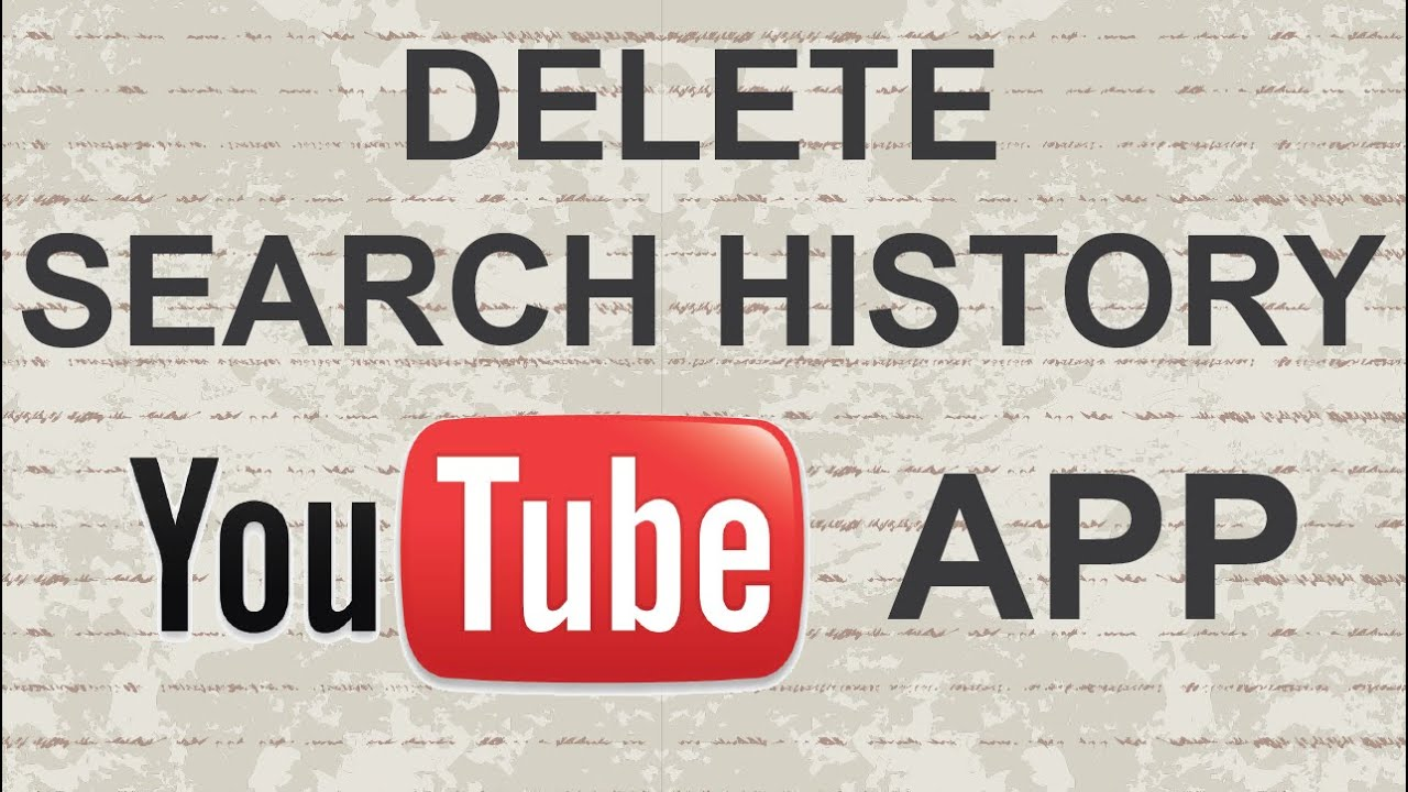 How To Clear Search History On Youtube Mobile App