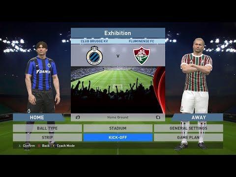 Club Brugge KV vs Fluminense FC, Jan Breydel Stadion, PES 2016, PRO EVOLUTION SOCCER 2016