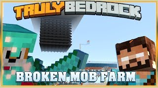 Truly Bedrock S1E37 MOB FARM BROKEN  | Minecraft Bedrock Edition SMP, MCPE, MCBE
