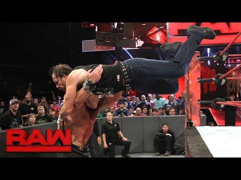 Dean Ambrose vs. Elias Samson: Raw, June 12, 2017