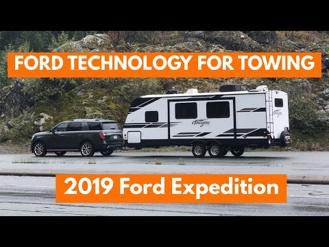 Technology to Help With Towing FORD VEHICLES