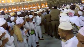 Arrival of Imam Kaabah for Salah During Hajj