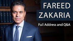 Dr Fareed Zakaria | Full Address and Q&A | Oxford Union