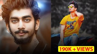 How to Edit Photo Retouching By Photoshop CC 2018 || Simple Photo to Photo Retouching