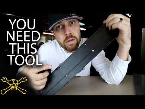You Need This Tool - Episode 17 | Sheet Metal Folding Tool