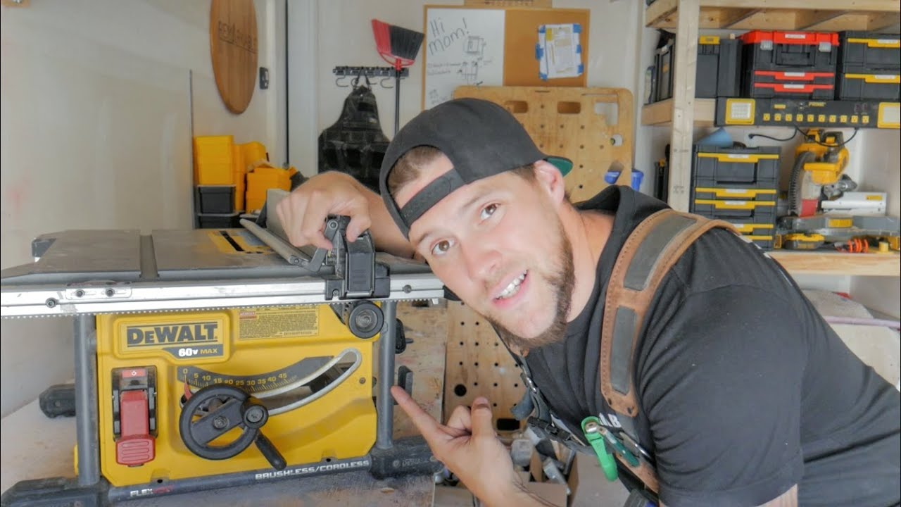 Fixing My Dewalt Table Saw in Under 1 Minute