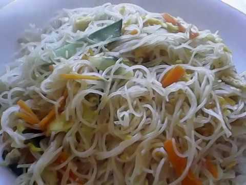 Spaghetti di riso cinesi alle verdure youtube for Ricette cinesi riso