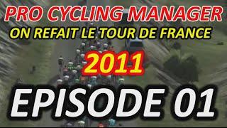 Pro Cycling Manager 2014 - On refait le Tour de France 2011 EP01 - Let