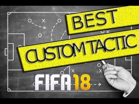 FIFA 18 - BEST CUSTOM TACTIC + Tiki Taka