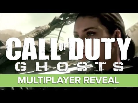 Call of Duty Ghosts Multiplayer Gameplay Trailer ft. Eminem Song Survival