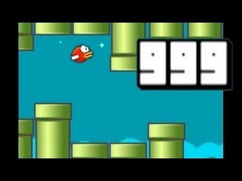 FLAPPY BIRD Highscore 9999!!!