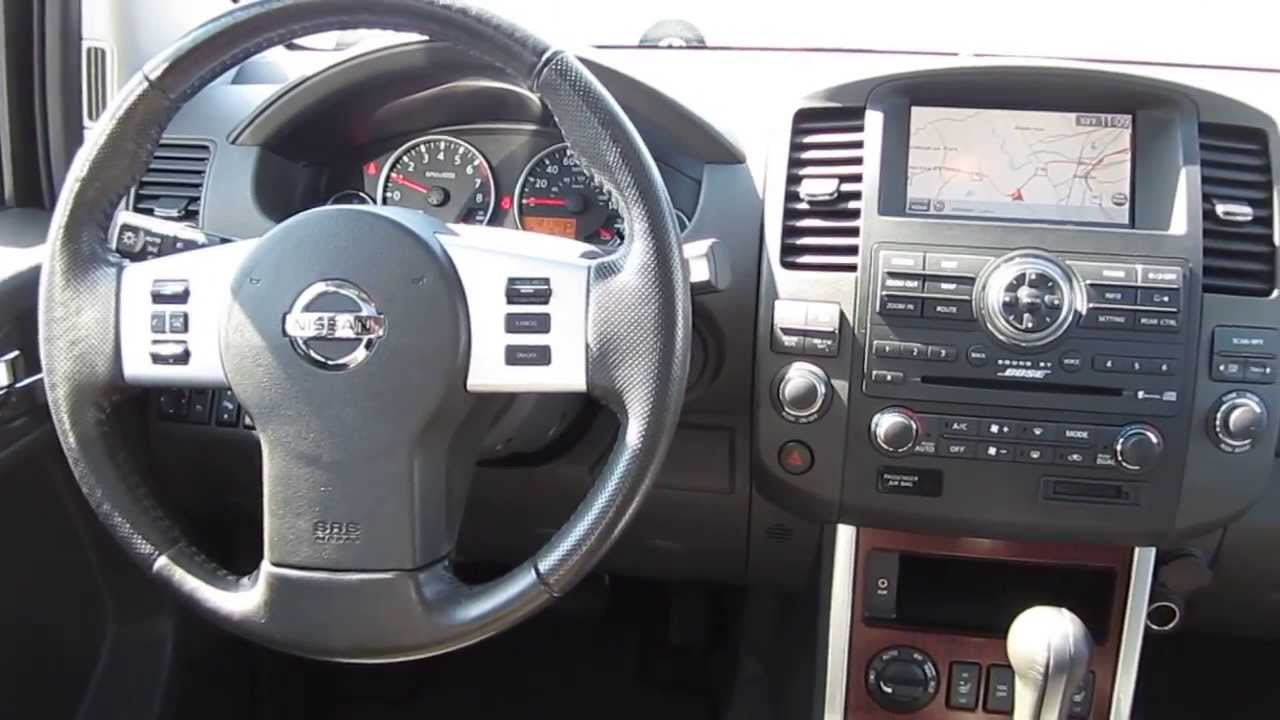 Lovely 2008 Nissan Pathfinder, Black   STOCK# A3118A   Interior