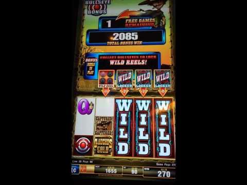 Gaucho's Gold Slot Machine Bullseye Bonus