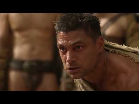 Spartacus vs Crixus - Dövüş Sahnesi