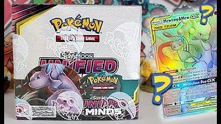 NEW Pokemon Unified Minds Booster Box Opening