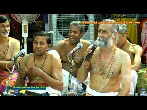54 - Felicitation of Mumbai Sri Sathya Bhagavathar & Party by Alangudi Namasankeerthana Trust