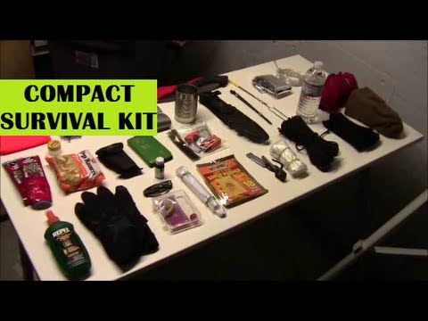 Compact Survival Kit: Small Version for Bugging Out or Everyday Carry