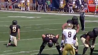 Wake Forest Kicker Forgets to Kick | 2018 CFB Highlights