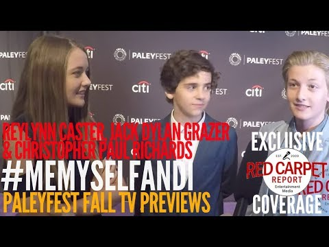 Reylynn Caster, Jack Grazer, Chris Richards #MeMyselfandI at #PaleyFest Preview
