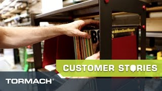 Creating Vinyl Storage Racks With Wax Rax