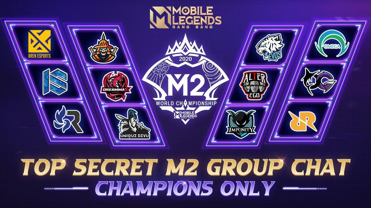 Top Secret M2 Group Chat   Mobile Legends: Bang Bang