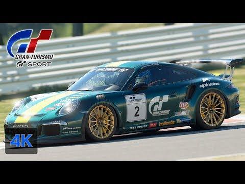 Porsche Cup - Gran Turismo Sport [4K] Porsche 911 GT3 RS Onboard [Endurance League] Walkthrough