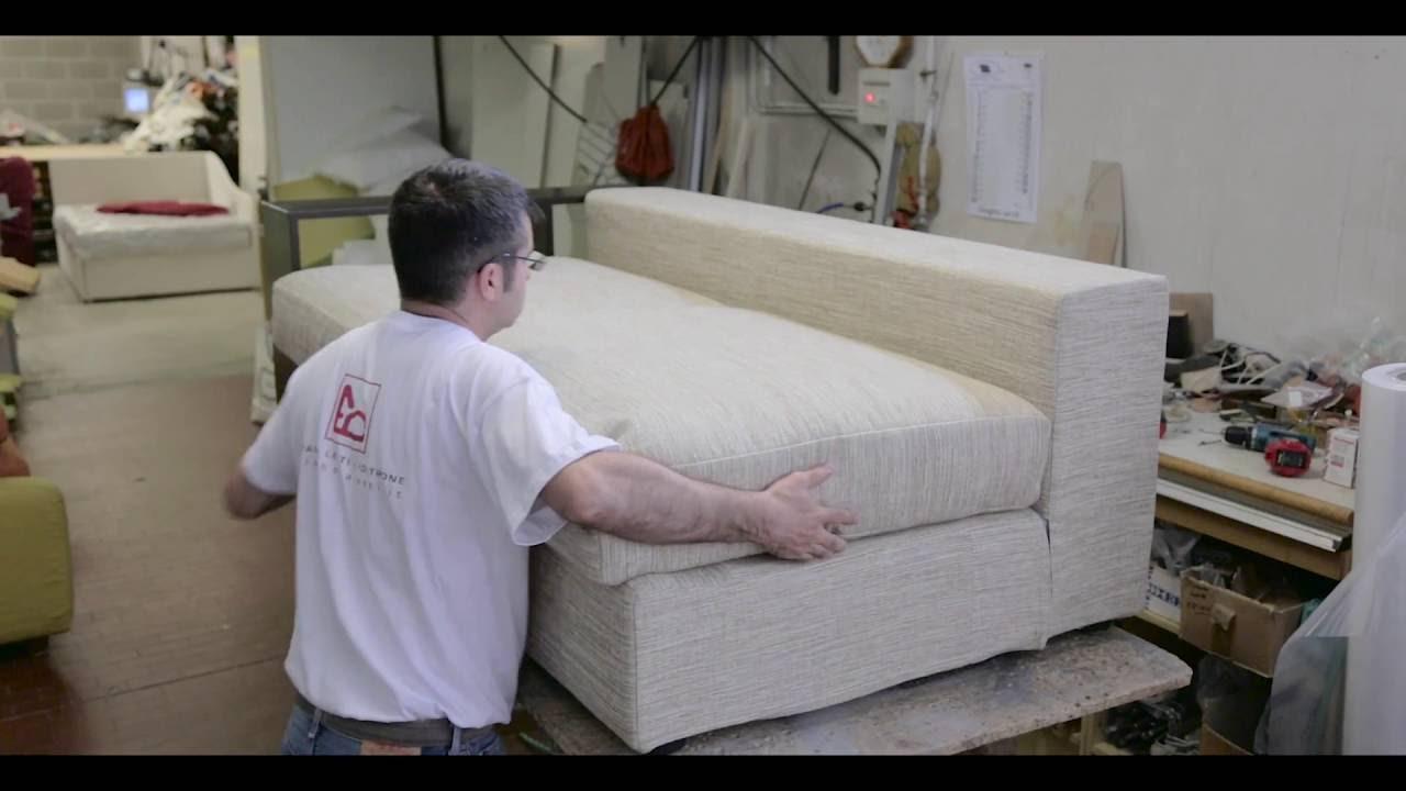 Colombo Divani A Meda divani artigianali fatti a mano | vi mostriamo come si realizzano | colombo  fabbrica artigiana