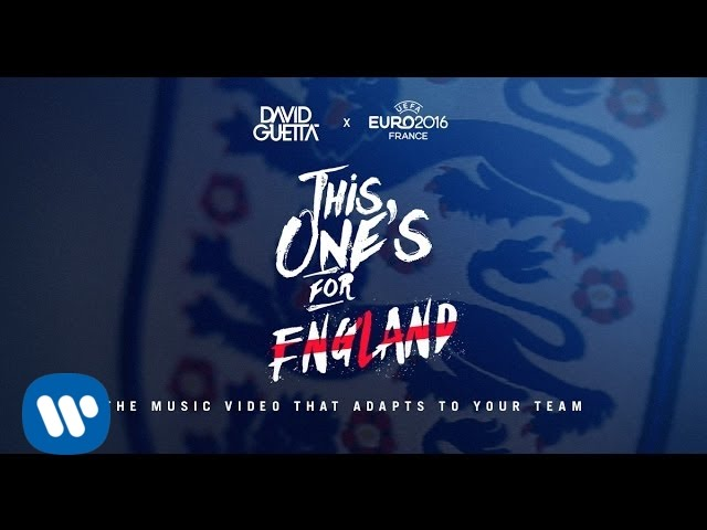 Download David Guetta ft. Zara Larsson - This One's For You England (UEFA EURO 2016™ Official Song)