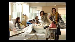 ジムで足を骨折した斉藤さんが、1週間ほど近所の望月総合病院に入院する...