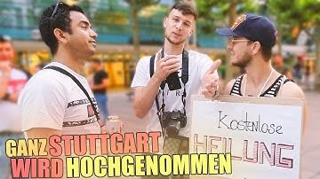 Ganz STUTTGART wird HOCHGENOMMEN !.😱| LEUTE VERA*SCHEN | Denizon