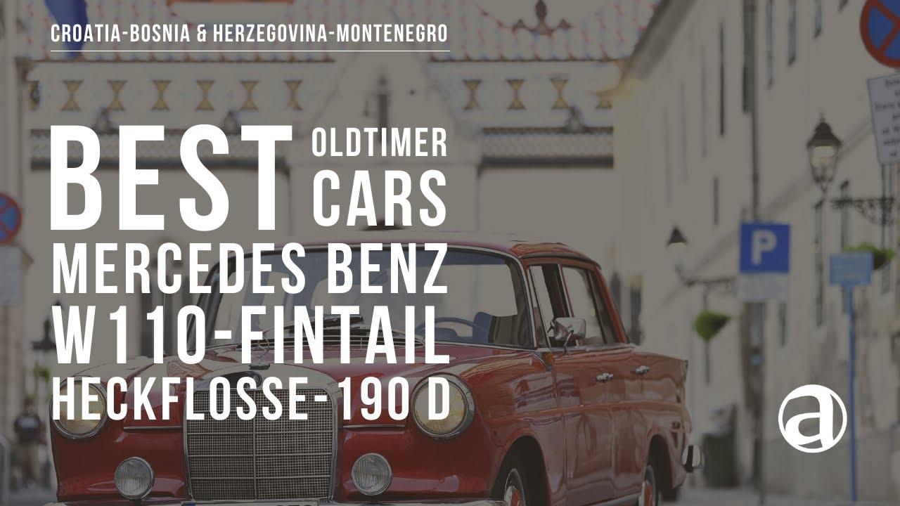 Download Mercedes Benz W110 Fintail-Heckflosse 190 D-Repaš-1963 | Best Oldtimer Cars | Antropoti Concierge