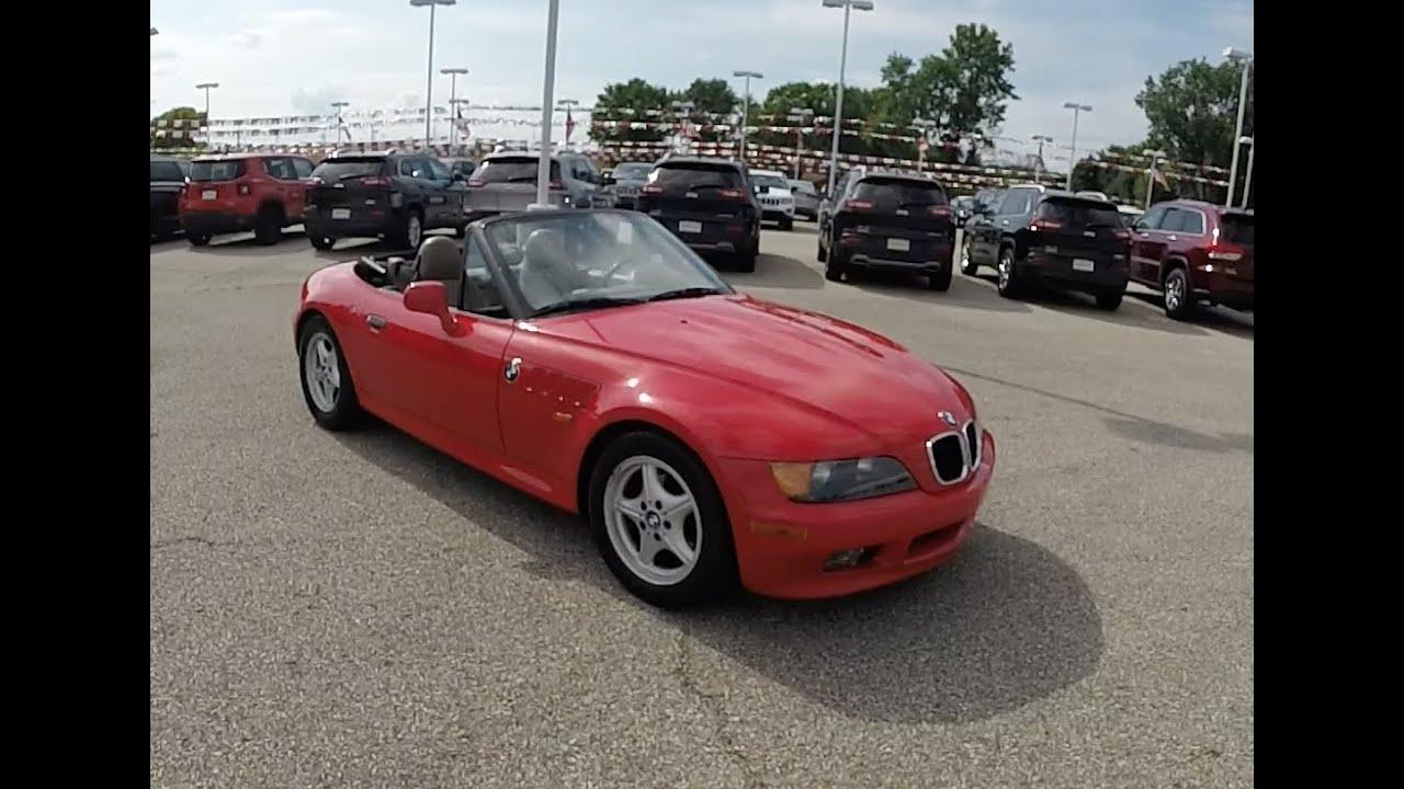medium resolution of 1996 bmw z3 e36 7 1 9l roadster p10953a