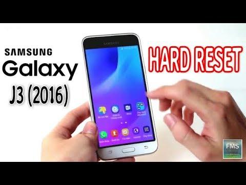 SAMSUNG J320F Galaxy J3 2016   How to Hard Reset my phone 2017