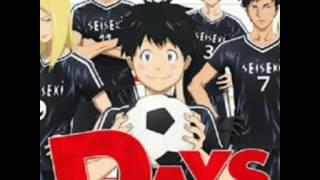 อนิเมะแนวฟุตบอล เรื่อง Days ตอนที่ 1-?