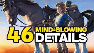 Zelda: Breath of the Wild - 46 Tiny Mind-Blowing Details