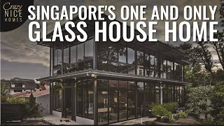 Look inside this Unique MultiMillion Glass House Landed Home