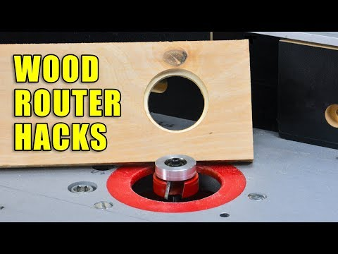 Wood Router Hacks - 5 Wood Router Tips And Tricks