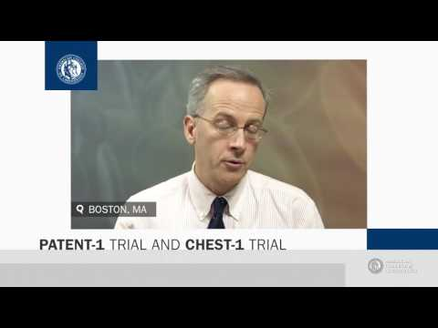 News Archive | CHEST-1 and PATENT-1 Trials
