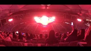170909 레드벨벳 Red Velvet _ 빨간맛 떼창 Red Flavor _ Wide FanCam 넓은 직캠 _ INK 콘서트