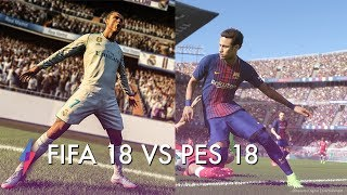 FIFA 18 VS PES 18 Hands On Review - Which Is Better?! | Trusted Reviews