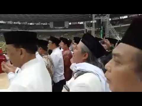 Menyambut Jokowi Di GBK 2 Harlah Muslimat 2019