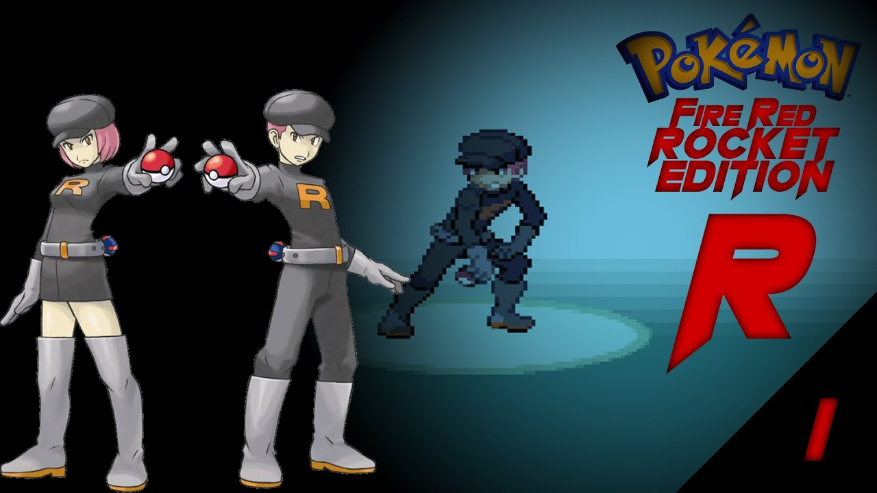 """Let's Play Pokémon Fire Red Rocket Edition Ep. 1 """"Grunt Life"""""""