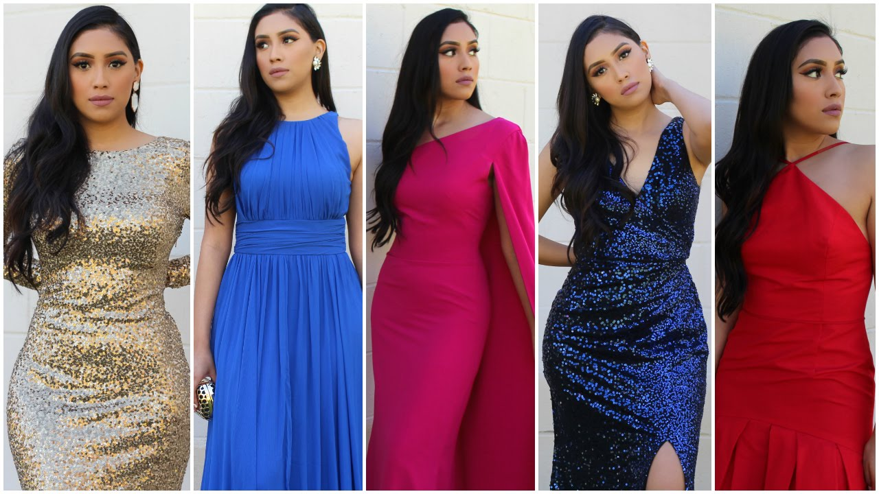 Prom Inspired LookBook 2016 Ft RENT THE RUNWAY - YouTube