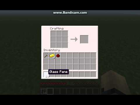 how to make stained glass in minecraft pe