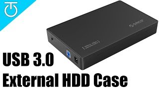 Easily Backup Data to External Hard Drive - ORICO USB 3.0 Hard Drive Case Review