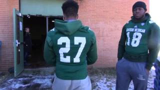 EMU Football Delivers Water to Flint