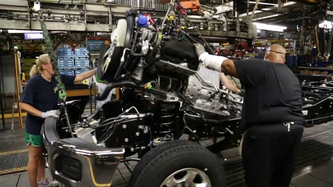 Ford Kentucky Truck Plant Assembly Youtube