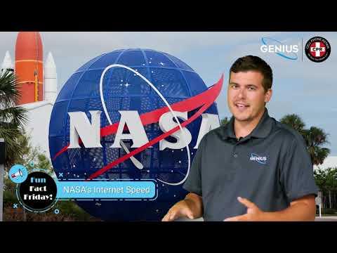 Nasa S Internet Speed Friday Fun Fact Video Genius Phone Repair Youtube