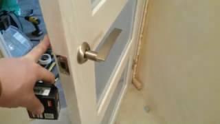 видео Межкомнатные дверные замки